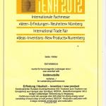 Urkunde - Goldmedaille iENA 2012 001